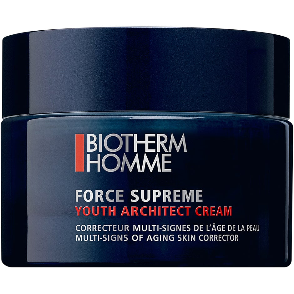 Köp Biotherm Homme Force Supreme Youth Architect Cream, Youth Architect Cream 50 ml Biotherm Homme Dagkräm fraktfritt