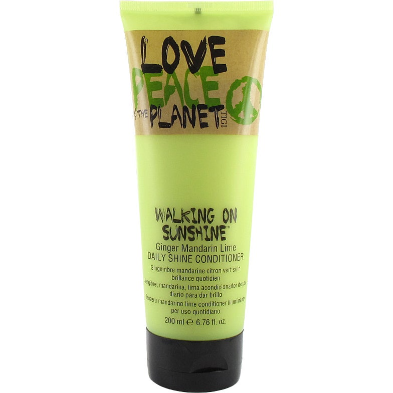 TIGI Love Peace and The Planet Walking On Sunshine
