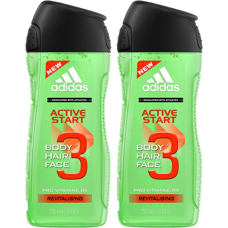 adidas Bodycare Ice Dive 3in1 Body, Hair and Face Shower