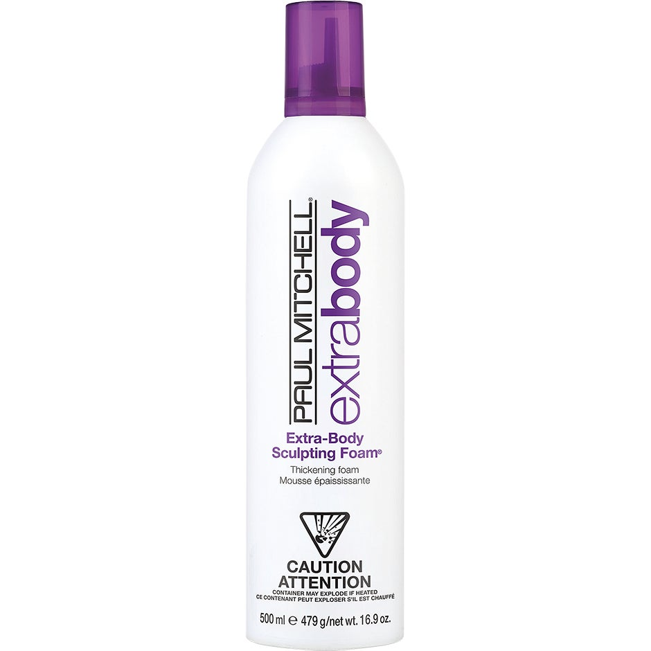 Extra Body Sculpting Foam, 500 ml Paul Mitchell Mousse