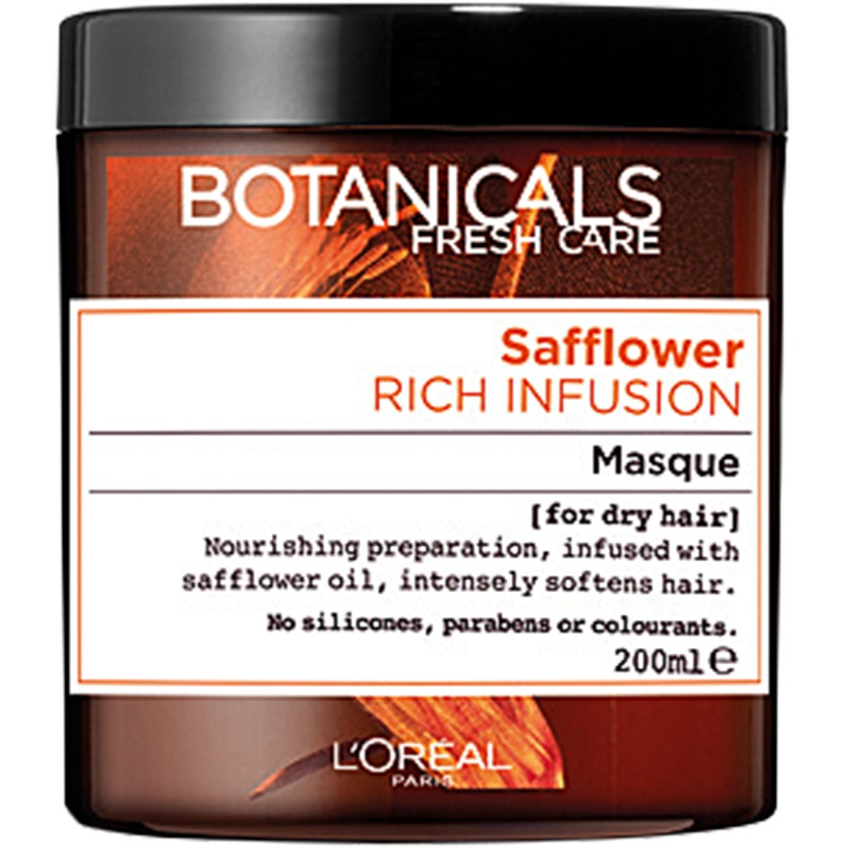 L'Oréal Paris Botanicals Safflower Rich Infusion Masque, 200 ml L'Oréal Paris Hårinpackning