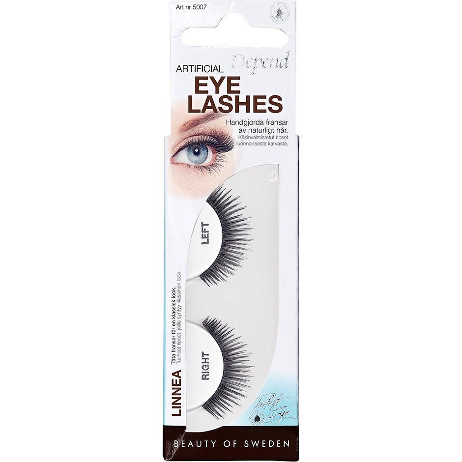 Köp Artificial Eyelashes, Linnea Depend Lösögonfransar fraktfritt