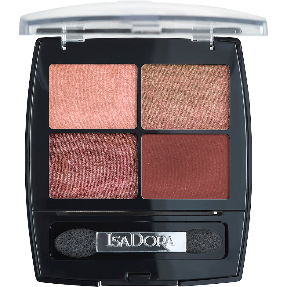 IsaDora Eyeshadow Quartet, Sunset Glow 5 g IsaDora Ögonskugga