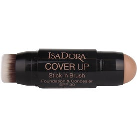 IsaDora Cover Up Stick´N Brush Foundation & Concealer SPF30