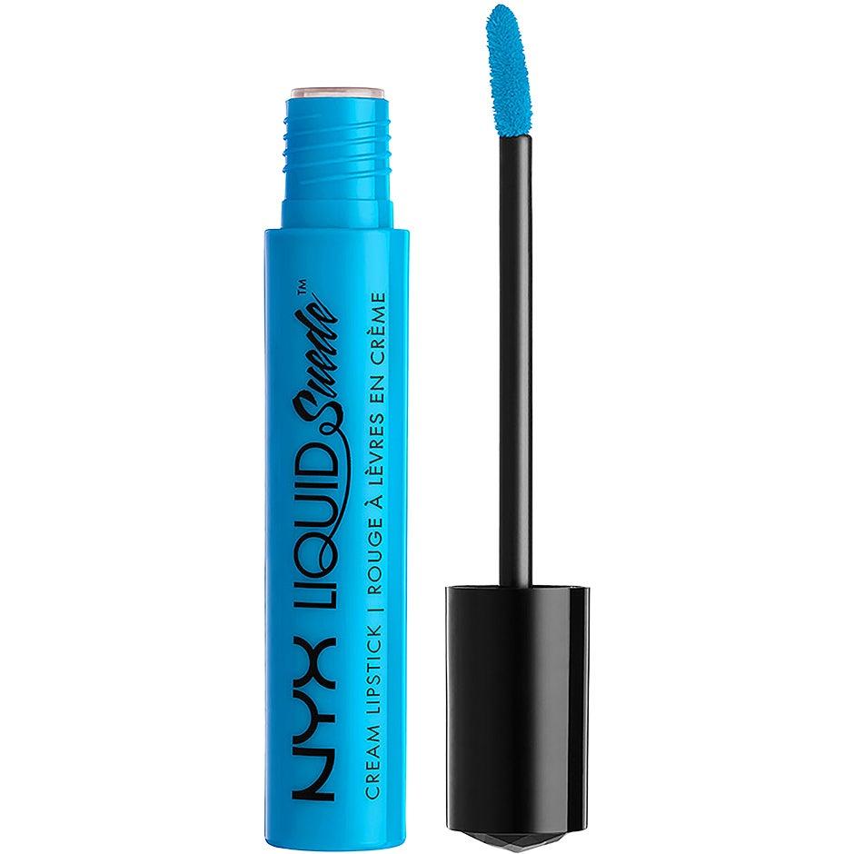 Köp Liquid Suede Cream Lipstick,  4ml NYX Professional Makeup Läppstift fraktfritt