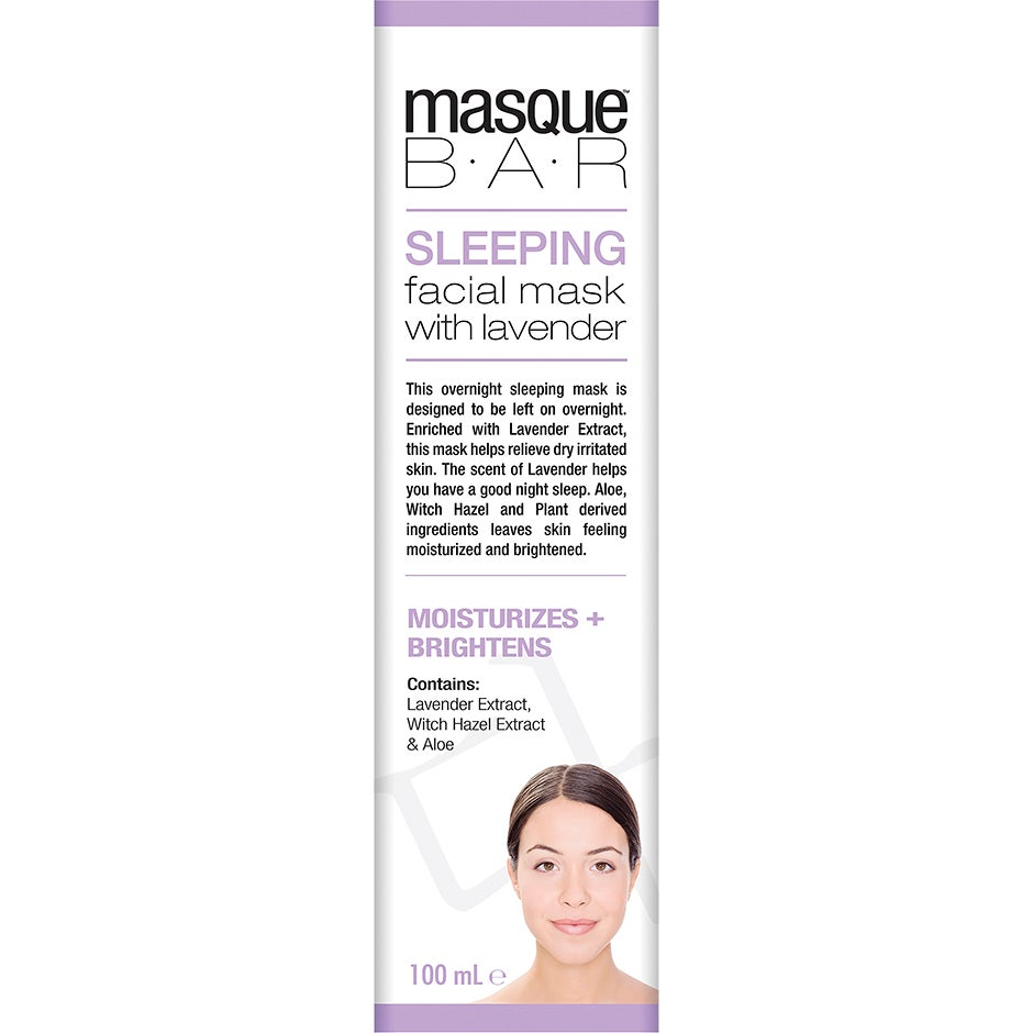 Sleeping Mask with Lavender, Masque Bar Ansiktsmask