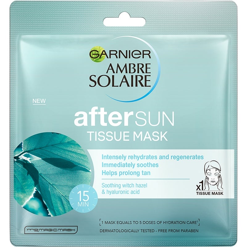 Garnier Aftersun Tissue Mask