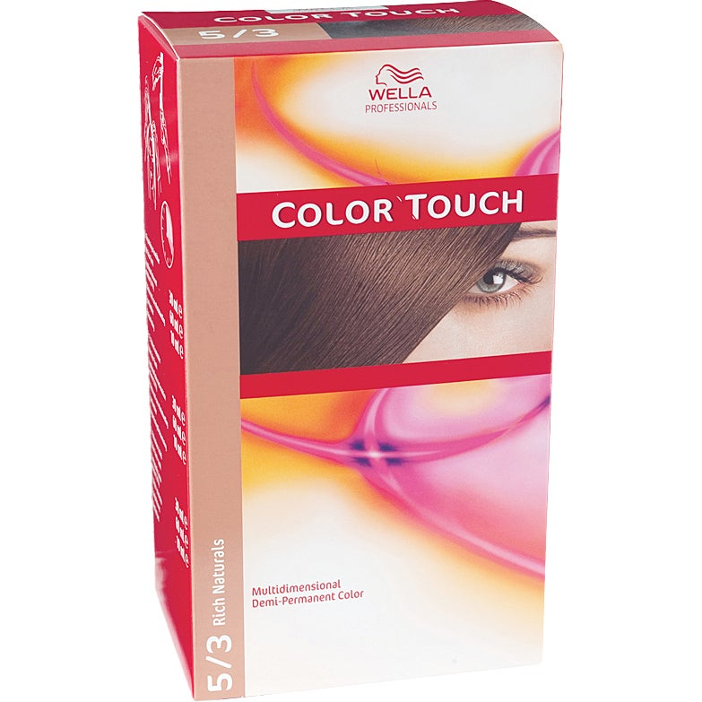 Wella Professionals Care Rich Natural Color Touch 5/3, Wella Toning