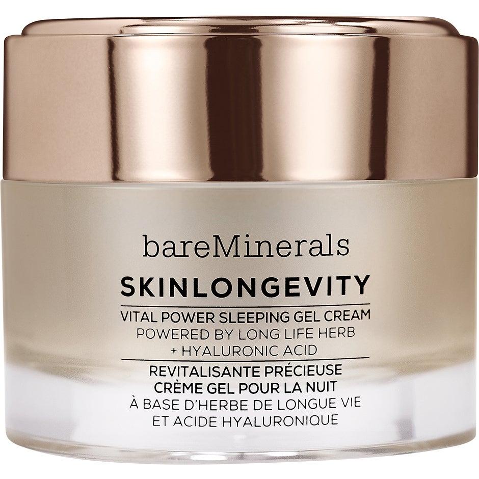 bareMinerals Skinlongevity Vital Power Sleeping Gel Cream, 50 ml bareMinerals Nattkräm