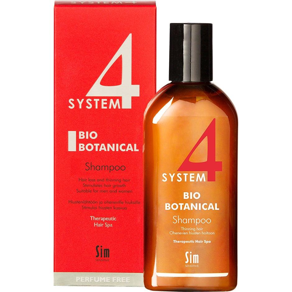 SIM Sensitive System 4 Bio Botanical Shampoo, 215 ml SIM Sensitive Shampoo
