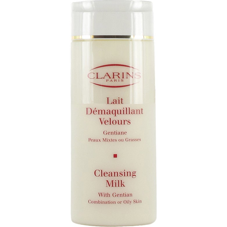 Clarins Cleansing Milk With Gentian (Kombinerad/Fet hy)
