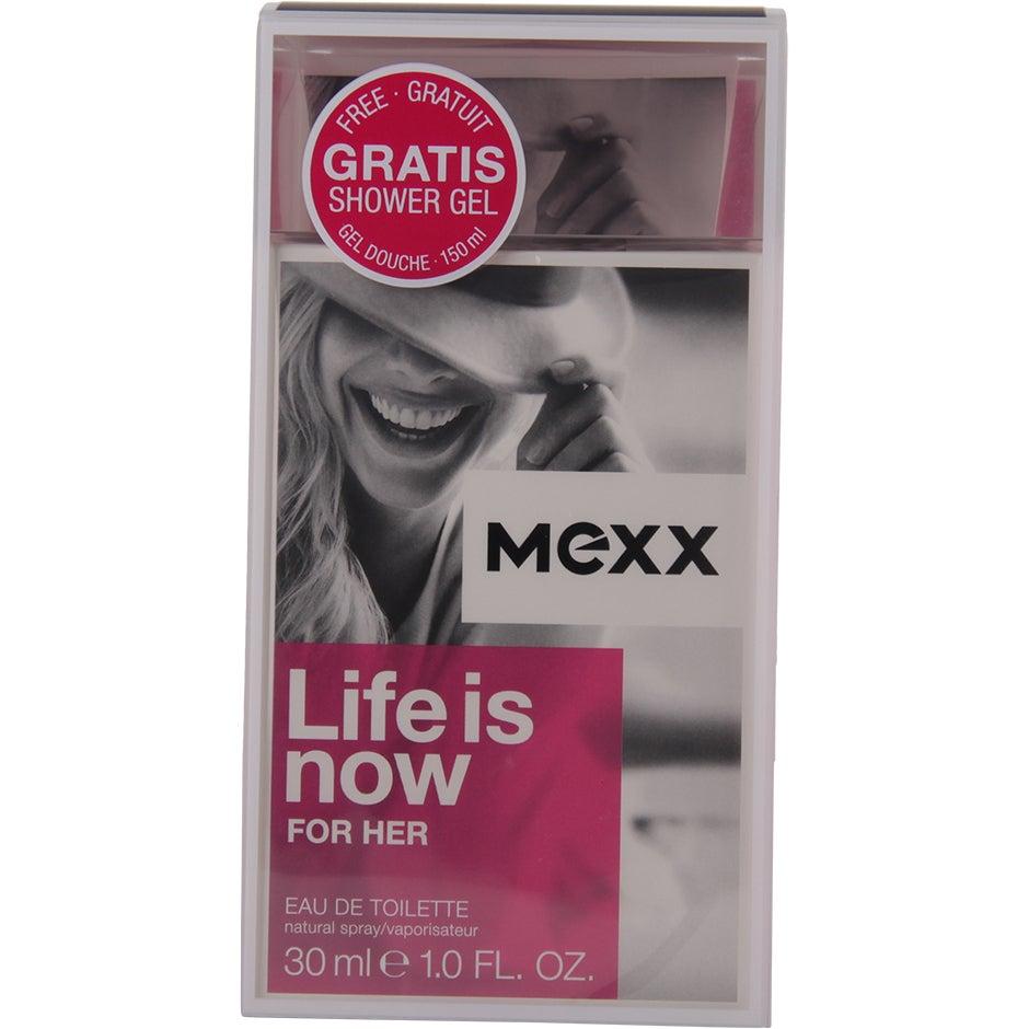 Life is Now Woman 30ml Mexx Gift Set Dam thumbnail