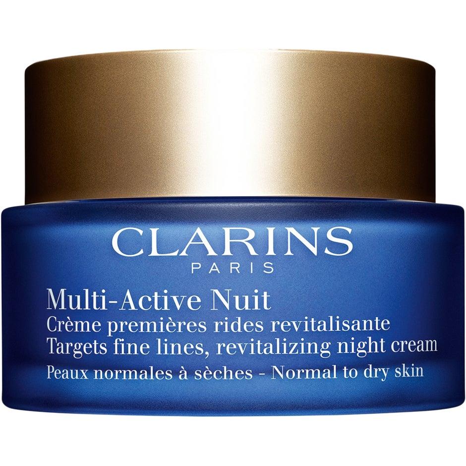 Clarins Multi-Active Nuit Comfort for Normal/Dry Skin Night Cream, 50 ml Clarins Nattkräm