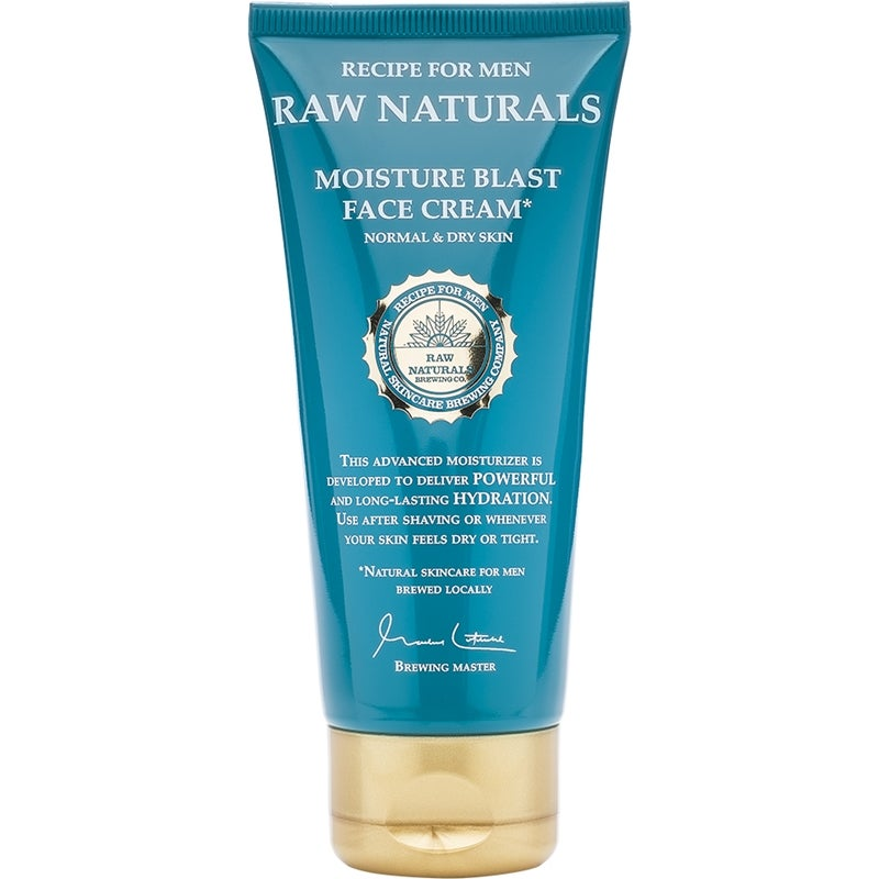 Raw Naturals by Recipe for Men Moisture Blast Face Cream