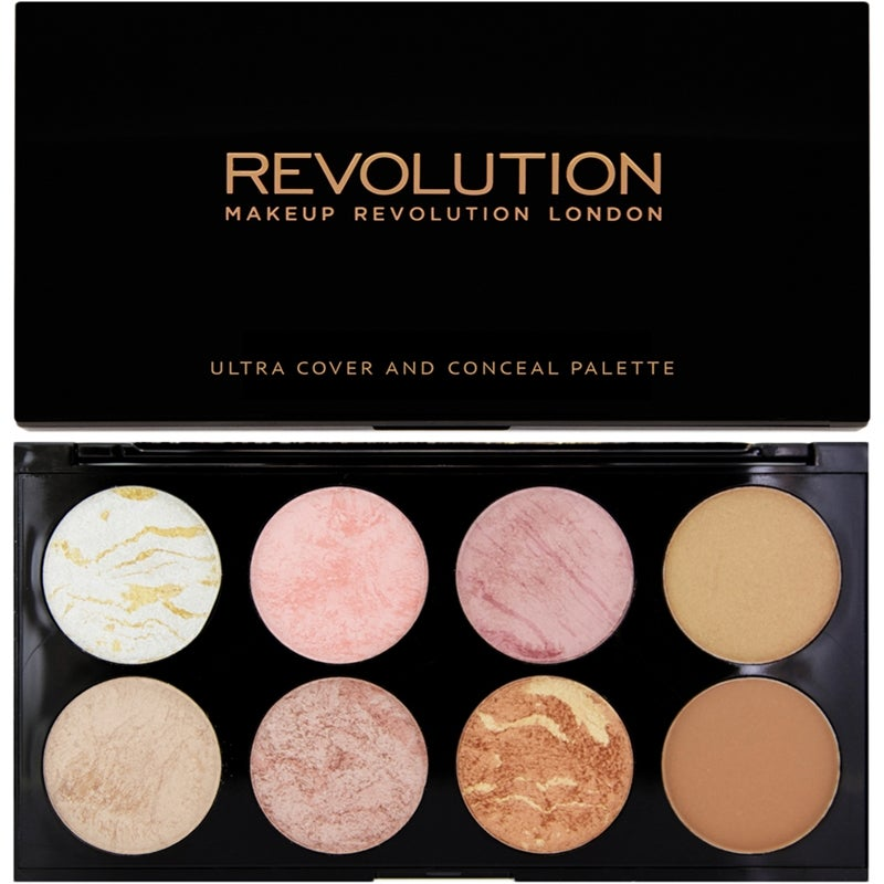 Makeup Revolution Ultra Blush And Countour Palette Golden Sugar