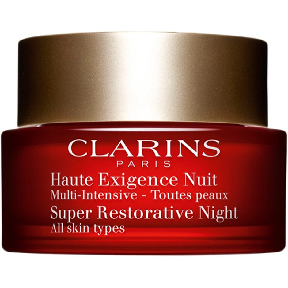 Clarins Super Restorative Night, for All Skin Types, 50 ml Clarins Nattkräm