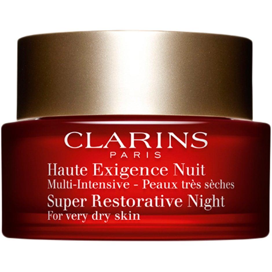 Clarins Super Restorative Night, for Dry Skin, 50 ml Clarins Nattkräm