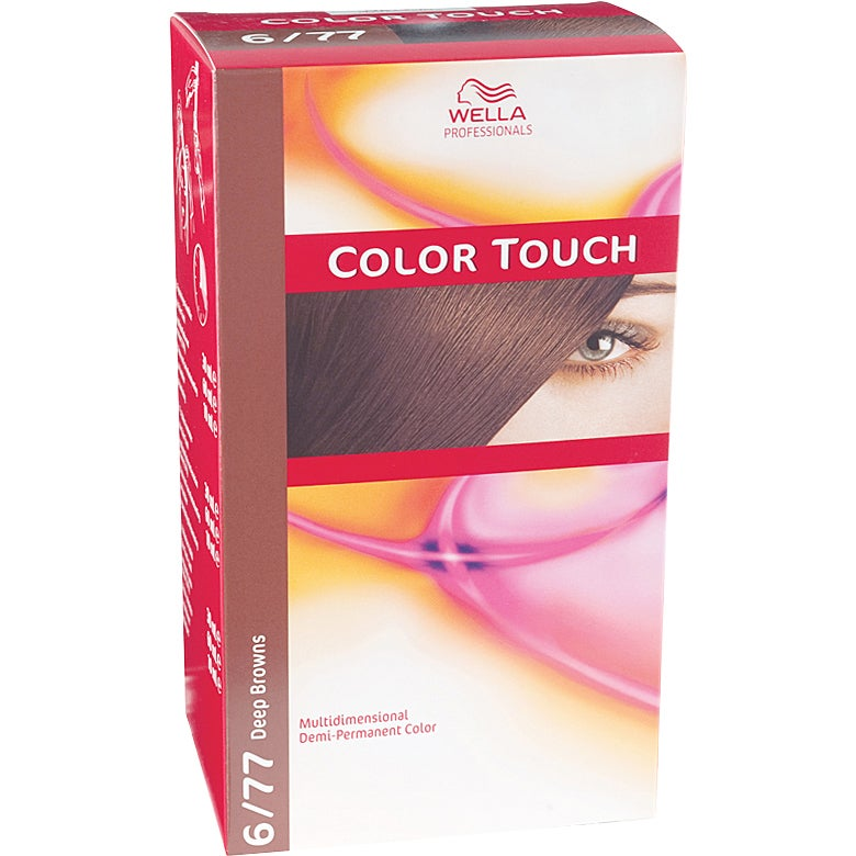 Wella Professionals Care Deep Browns Color Touch 6/77, Wella Toning