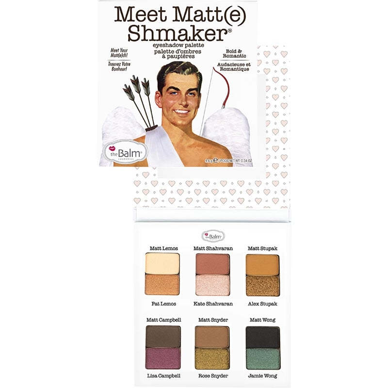 the Balm Meet Matte Shmaker Palette