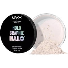 NYX Professional Makeup Holographic Halo Fine Powder