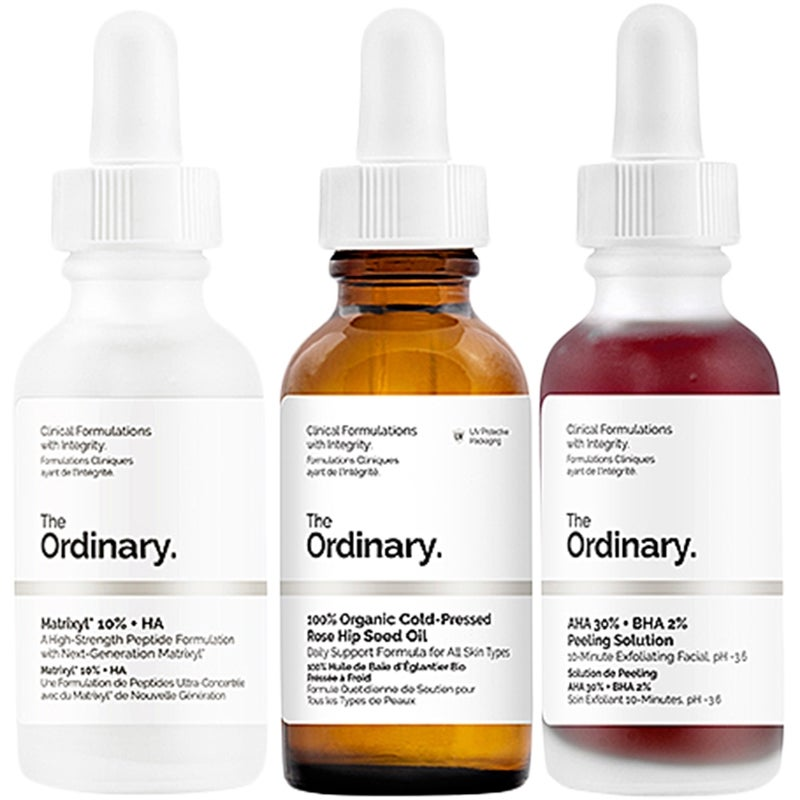 The Ordinary Skin Care Trio
