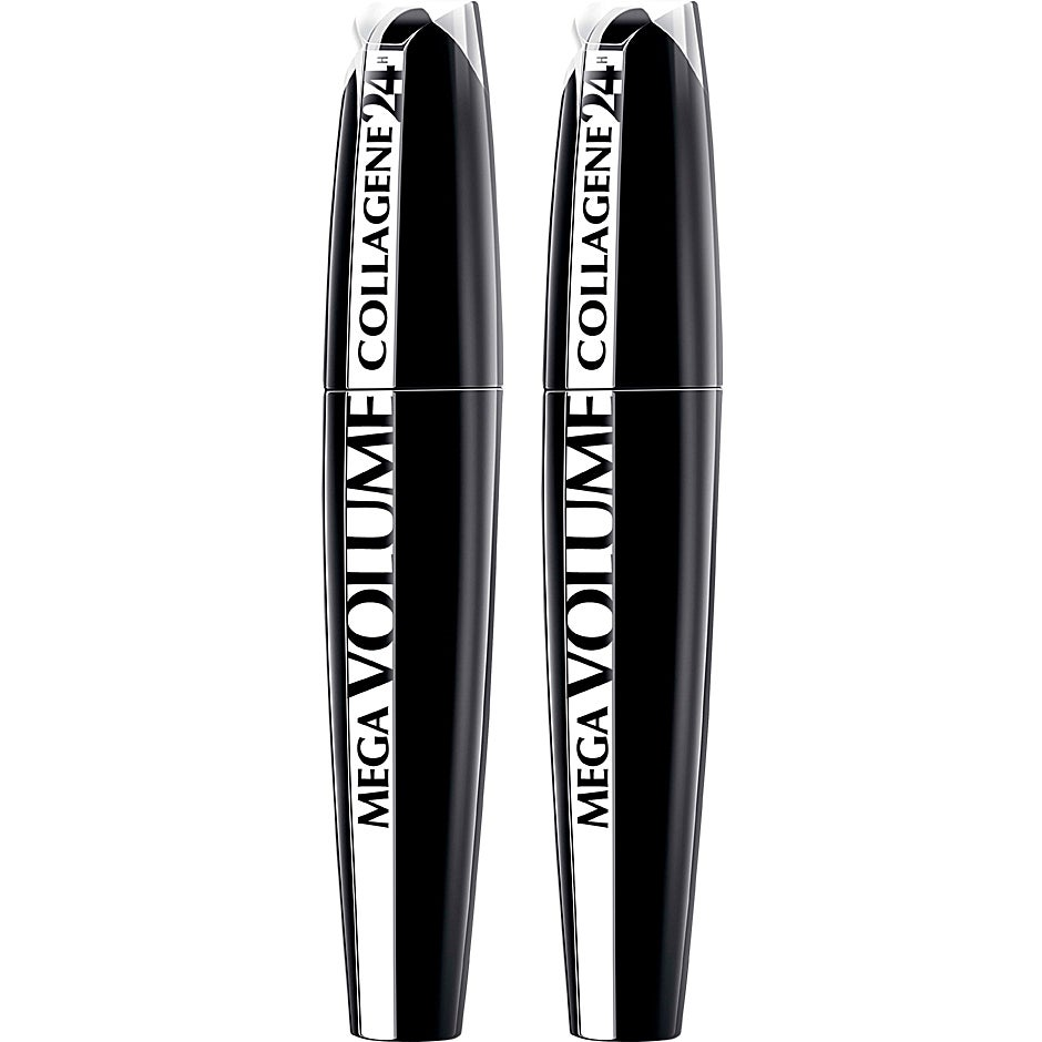 Mega Volume Collagen 24h Mascara Duo, L'Oréal Paris Makeup - Smink