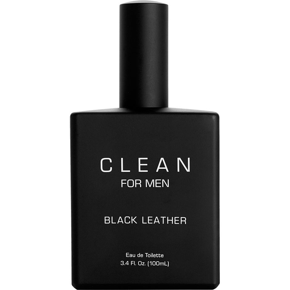 Clean for Men Black Leather EdT 100ml Clean Parfym thumbnail