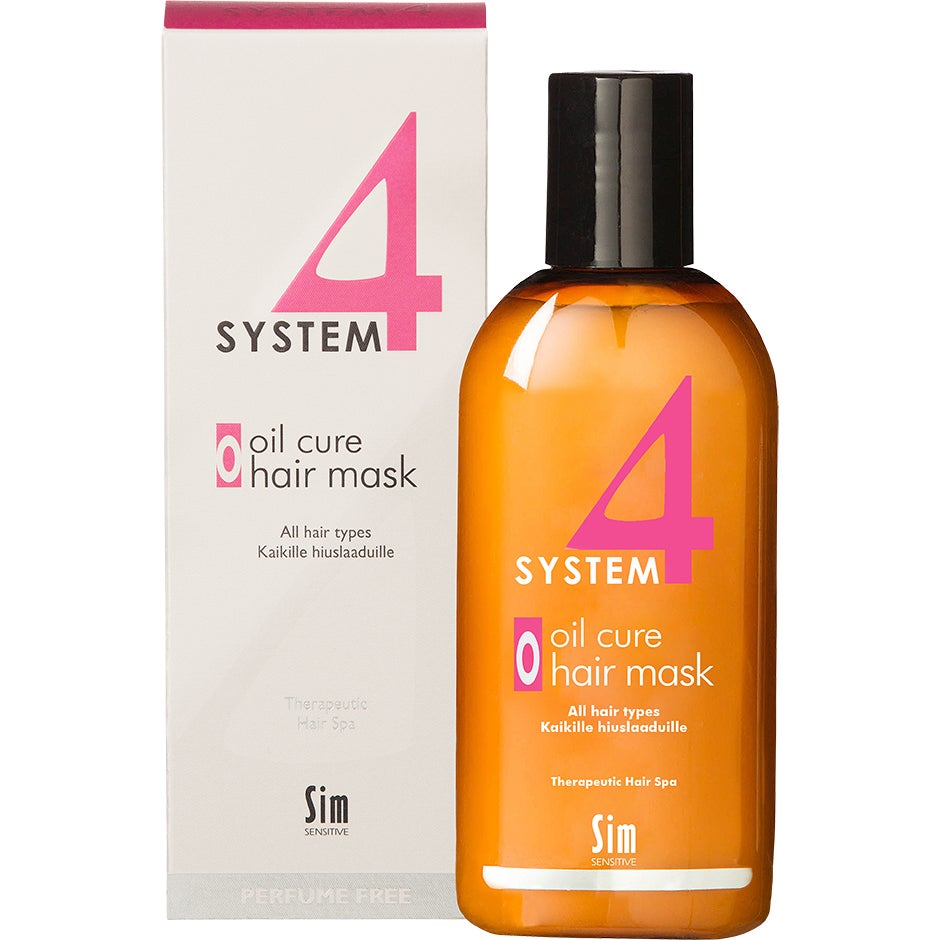 SIM Sensitive System 4 Oil Cure Hair Mask, 215 ml SIM Sensitive Hårinpackning