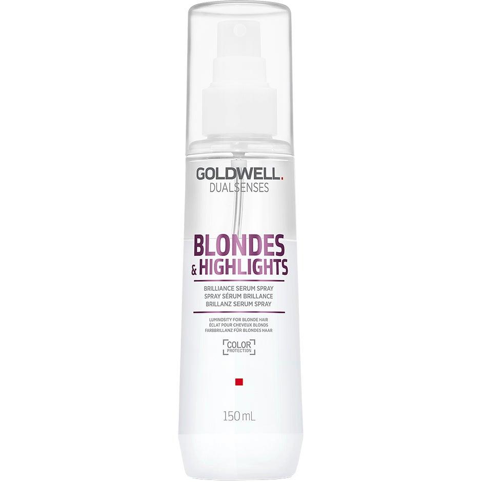 Köp Dualsenses Blondes & Highlights,  150ml Goldwell Serum & hårolja fraktfritt
