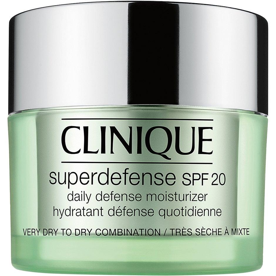 Köp Clinique Superdefense SPF 20 - Skin Type 1+2,  50ml Clinique Dagkräm fraktfritt