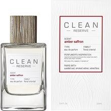 Clean Amber Saffron EdP