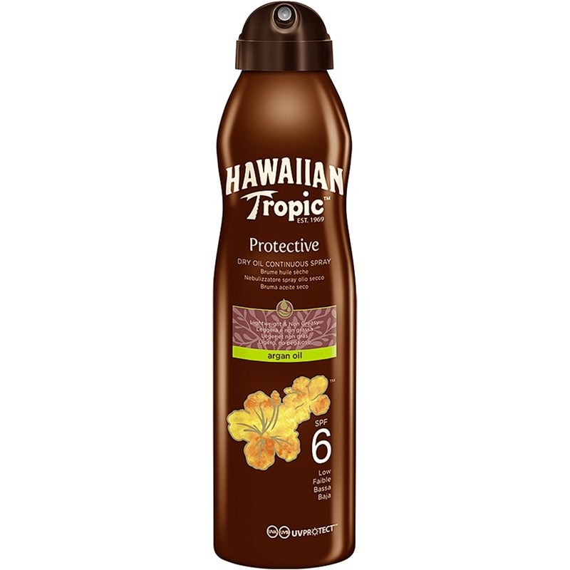 Hawaiian Tropic Protective Dry Oil Continuous Spray