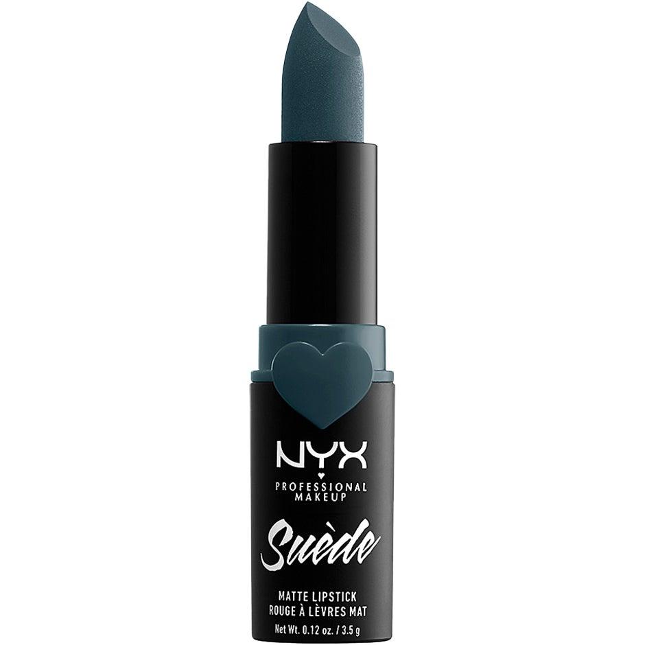 Suede Matte Lipstick, Ace 3,5 g NYX Professional Makeup Läppstift
