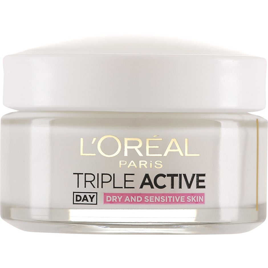 L'Oréal Paris L'Oréal Paris Triple Active, Dry/Sensitive Day Cream 50 ml L'Oréal Paris Dagkräm